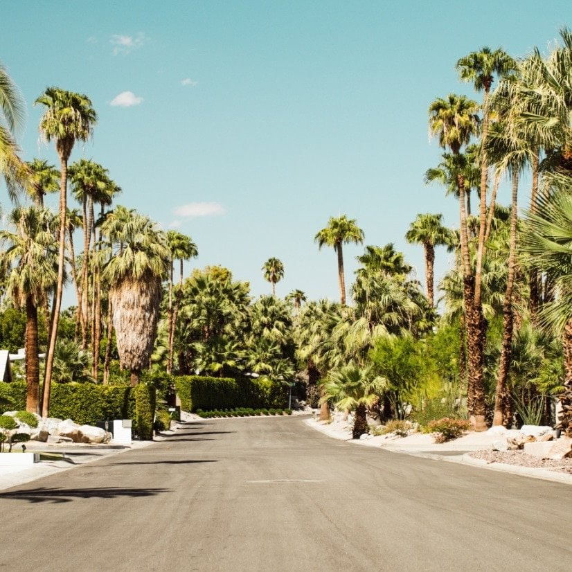 homes by Palm Springs